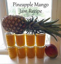 Pineapple Mango Jam (Feingold Diet-S1) -used canned pineapple