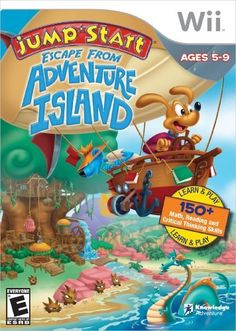 Jumpstart Escape Adventure island - Nintendo Wii by Knowledge Adventure, http://www.amazon.com/dp/B002SRNFX2/ref=cm_sw_r_pi_dp_7RiYtb0ZBNY38