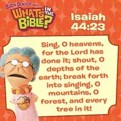 Isaiah 44:23