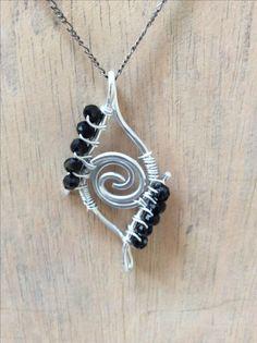 Wirewrapped necklace