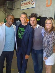 Dule Hill, Timothy OMundson, James Roday, Maggie Lawson Comic-Con '09