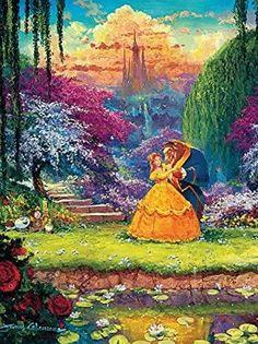 Ceaco Disney Garden Waltz Jigsaw.  Used.