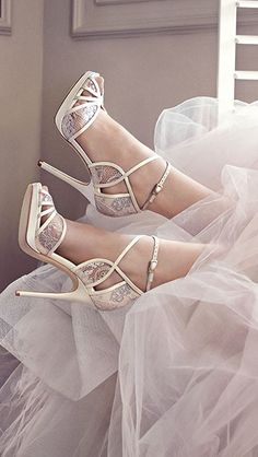 Gorgeous wedding heels