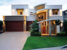 Photo of a tiles house exterior from real Australian home - House Facade photo 163262