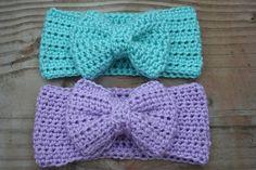 Crochet Patterns Galore - Modern Bow Headband