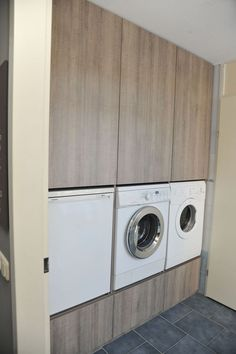 Stay Home. Laundry Room Closet, Cookware Storage, Laundry Mud Room, Bedroom Inspirations, Small Room Bedroom, Modern Bathroom, Laundry Appliances, Modern Kitchen Design, Kitchen Design