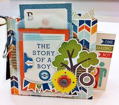 Papier Love: The story of a boy mini album