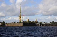 Peter and Paul Fortress, St. Petersburg, Russia #travel #russia #saintpetersburg #2go #fortress