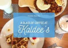 A catching-up with friend at Kaldee's! #FoodTravel #Food #Foodie #FoodBlogger #KulinerSurabaya #Kuliner #Cafe