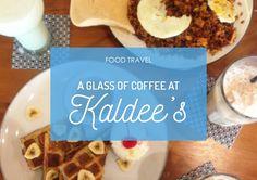 A catching-up with friend at Kaldee's! #FoodTravel #Food #Foodie #FoodBlogger #KulinerSurabaya #Kuliner #Cafe