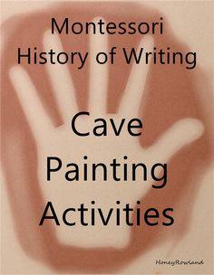 Montessori History of Writing Cave Painting