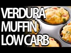 Muffin proteici con verdura  - Snack low carb