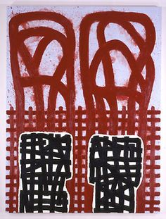 Jonathan Lasker - Agrarian Structures     2004     Oil on canvas     203.2 x 152.4 cm (80 x 60 in)  Galerie Thaddaeus Ropac