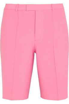 J.Crew Collection Eaton stretch-wool shorts | NET-A-PORTER