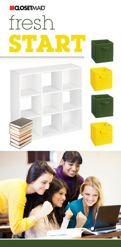 Start the school year off organized! We have tons of options to choose from that will help your dorm room stay clutter-free. #ClosetMaid