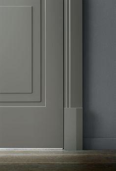 Internal doors   LUALDI - wood jamb and trim - Avenue