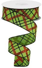 WIRED RIBBON – GyPsy BaRn ChiX Wreath Making Supplies, Craft Supplies, Halloween Ribbon, Orange Glitter, Ribbon Design, Burlap Ribbon, Green Ribbon, Wired Ribbon, Fall Wreaths