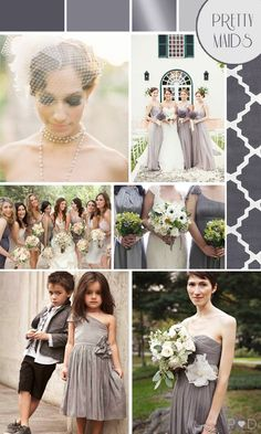 Fifty Shades of Grey Wedding Moodboard - a sweeter side of the books -- via Love My Dress blog
