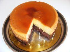 Tort de crema de zahar ars cu blat de pandispan Food Cakes, Cake Recipes, Caramel, Pancakes, Pudding, Breakfast, Desserts, Sweets, Cakes