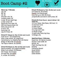 Printable Boot Camp #2