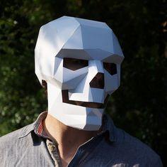 Best Photos of Paper Skull Mask Template - Skull Paper Mask Template, Halloween Paper Skull Masks Template and Halloween Paper Skull Masks Template