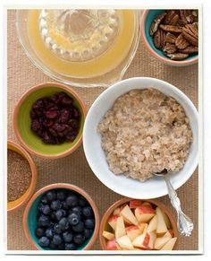 so many different things to do with oatmeal! yummm...