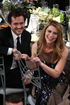 Claire Danes and Hugh Dancy watched the show.