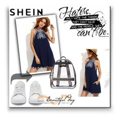 """""""Shein contest"""" by cvijece-1 ❤ liked on Polyvore featuring Betsey Johnson and adidas Originals"""