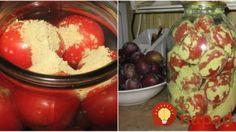 Egy módszer amivel akár szilveszterig is frissen tarthatod a paradicsomot! Kefir, Preserves, Guacamole, Frozen, Food And Drink, Cooking Recipes, Pudding, Cheese, Canning