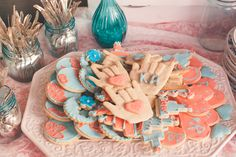 My awesome sister made these sign language I LOVE YOU sugar cookies! These added such a personal touch! Sign Language, Sugar Cookies, Wedding Planning, Backyard, Touch, Birthday, Awesome, Patio, Birthdays