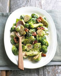 Brussels sprouts are one of fall's most underrated vegetables. Roasting them brings out the flavor in this Creamy Brussels Sprouts recipe, and bacon adds an extra layer of delicious. Make them for the family this fall as practice before using them as your secret menu weapon this holiday season. Find more affordable ingredients at Walmart.