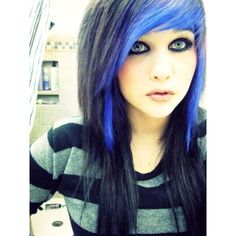 Love her fringe and the blue but if I got it but like that I would change it up a bit