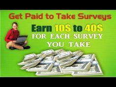Make Money Online Surveys 2016 -  Have Fun & Get Paid For Doing Surveys