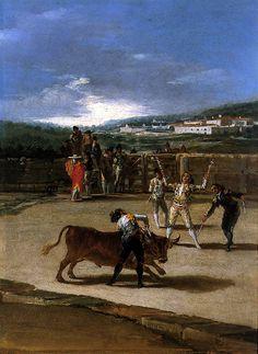 Banderillas en el Campo by Francisco de Goya (Spanish, 1746-1828)
