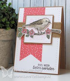 Love To Stamp by Erna Logtenberg: Stampin'Up! Best Birds