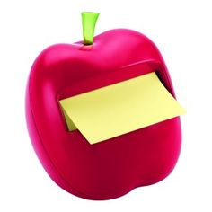 Shop Staples for Post-it® Pop-Up Dispenser for x Notes, Red, Apple-Shaped, 1 Pad/Pack Teacher Christmas Gifts, Best Christmas Gifts, Teacher Gifts, Teacher Stuff, School Teacher, Apple Pop, Red Apple, Pop Up, Student Survival Kits