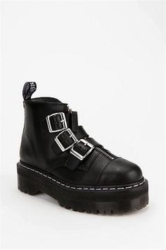 Agyness Deyn x Dr. Martens Aggy Strap Ankle Boot; i have been looking for a pair of these FOREVER!