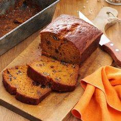 Savor the fall season with these tender fall bread recipes like sweet apple bread, moist pumpkin bread and savory dinner rolls.