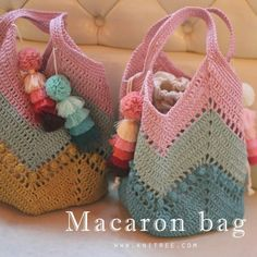 """New Cheap Bags. The location where building and construction meets style, beaded crochet is the act of using beads to decorate crocheted products. """"Crochet"""" is derived fro Filet Crochet, Bag Crochet, Crochet Market Bag, Crochet Socks, Crochet Handbags, Crochet Purses, Love Crochet, Crochet Crafts, Granny Square Bag"""