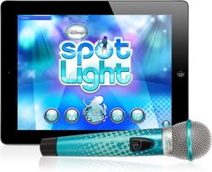 For 8-Year-Olds: Disney Spotlight Digital Wireless Mic + Karaoke App: Disney fans will fall in love with Disney Spotlight Digital Wireless Mic + Karaoke App ($68, originally $100), a wireless microphone that interacts with the iPad to transform it into the ultimate karaoke machine. It even allows mama to film her tots singing away!