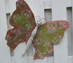 Table Leg Butterfly Mariposa Wall or Garden by LucyDesignsonline,
