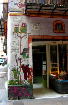 Calles de Valencia, Spain.