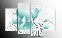 Find and explore latest ideas concerning duck egg blue canvas wall art, duck egg canvas wall art, also numerous wall art types and recommendations. Canvas Picture Walls, Canvas Pictures, Canvas Wall Art, Wall Art Prints, Flower Canvas, Duck Egg Blue, Blue Canvas, Floral Flowers, Anemone Flower
