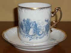 Victorian Tea Cups with Gold | Antique Rosenthal Victorian Tea Cup and Saucer | eBay
