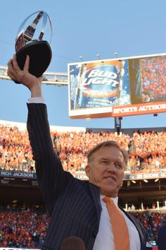 John Elway AND Bud Light!  Doesn't get any better than that!