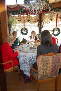 High Tea at Christmas time