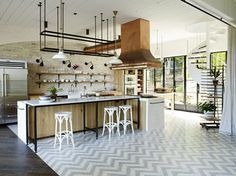 popham design ZigZag tiles in a Harbour Front Residence, New South Wales
