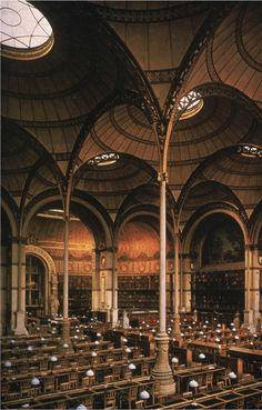 Bibliotheque. France They don't do it like this anymore.