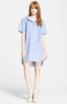 MARC BY MARC JACOBS Hooded Denim Dress available at #Nordstrom