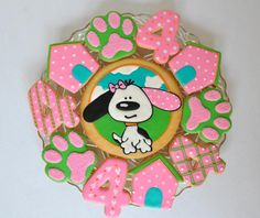 Dog Themed Party Cookies | Cookie Connection